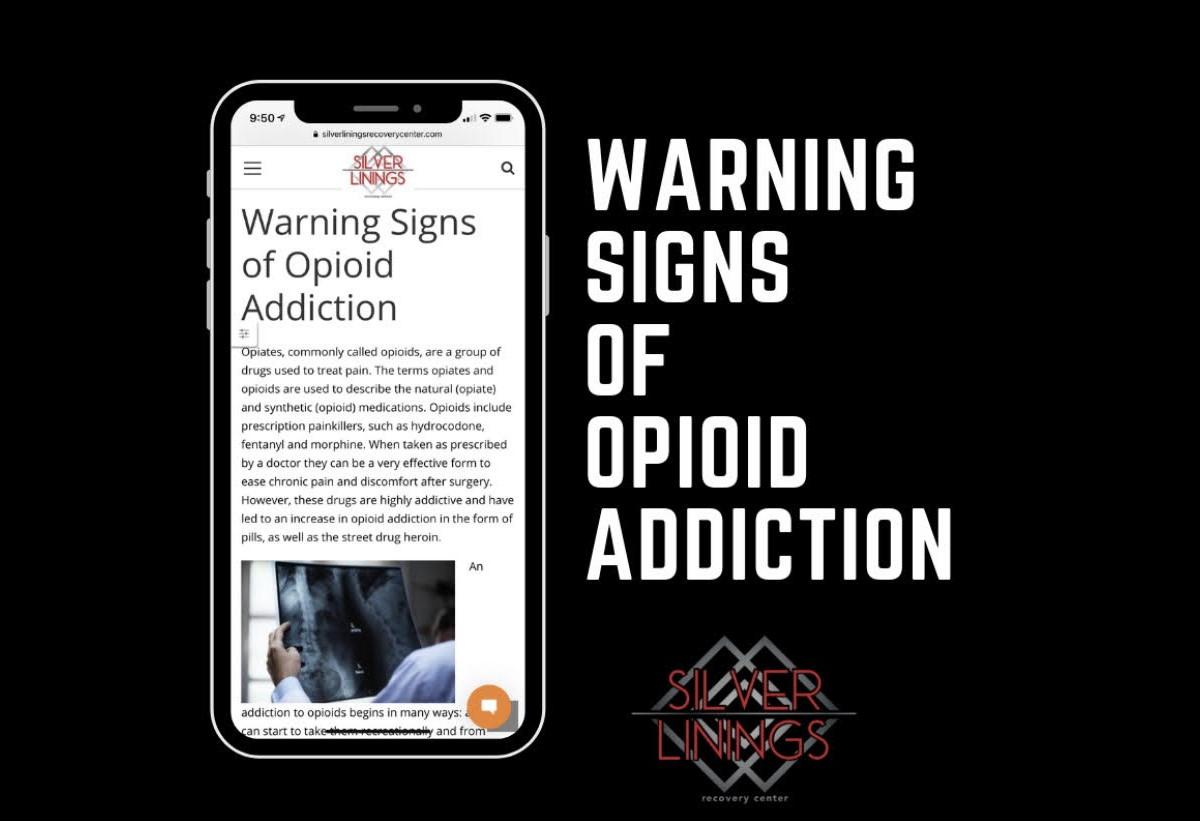 Warning Signs & Symptoms of Opioid Addiction